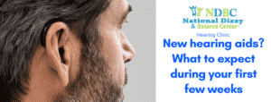 what to expect during first few weeks of hearing aid