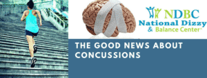 Good news about concussion